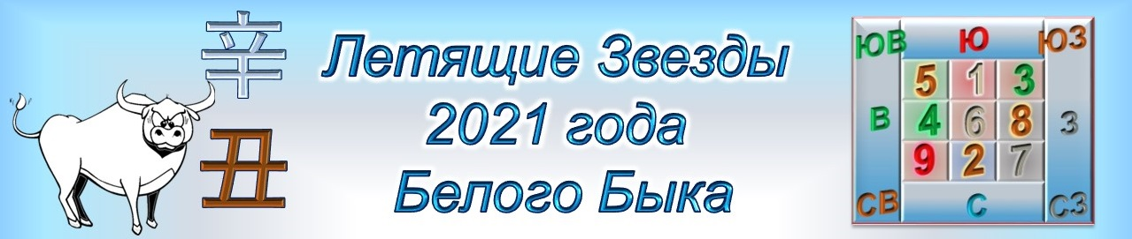 Летящие Звезды 2021 года Белого Быка
