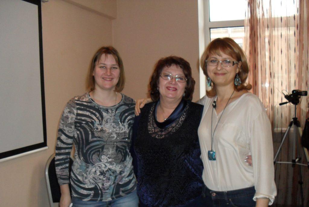 Знакомство - Тамара Нарышкина и Оксана Сахранова.