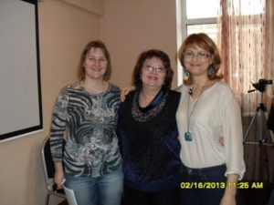 Тамара Нарышкина, Оксана Сахранова, Анна Зайцева