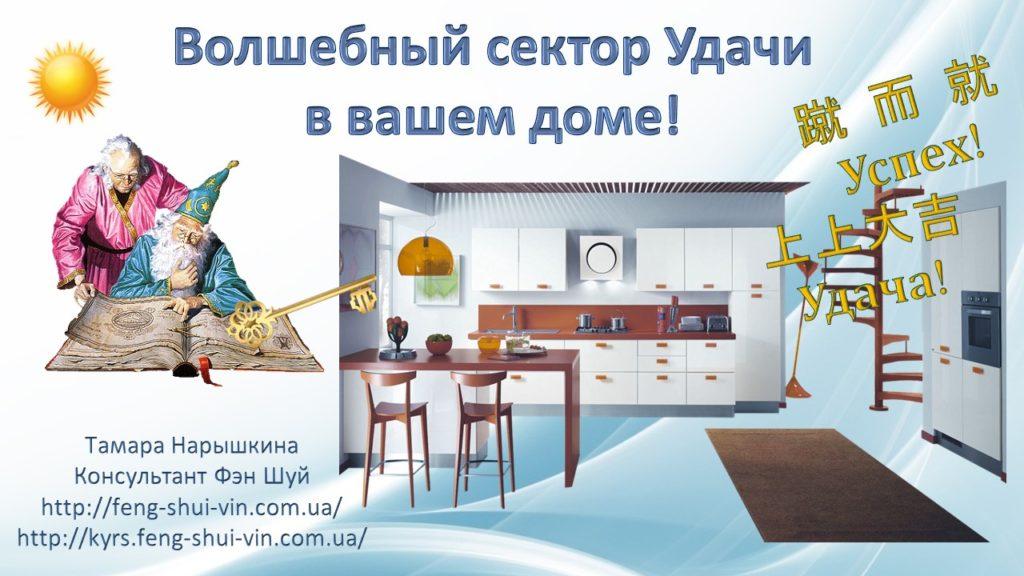 Волшебный сектор Удачи в вашем доме