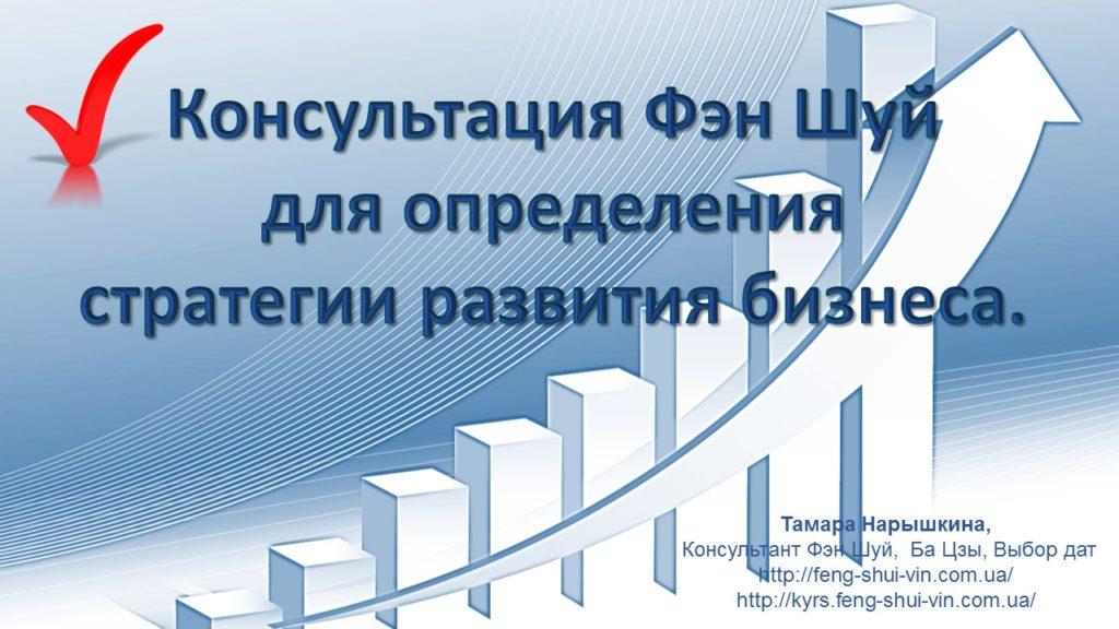Консультация Фен Шуй для бизнеса Определение стратегии развития бизнеса!