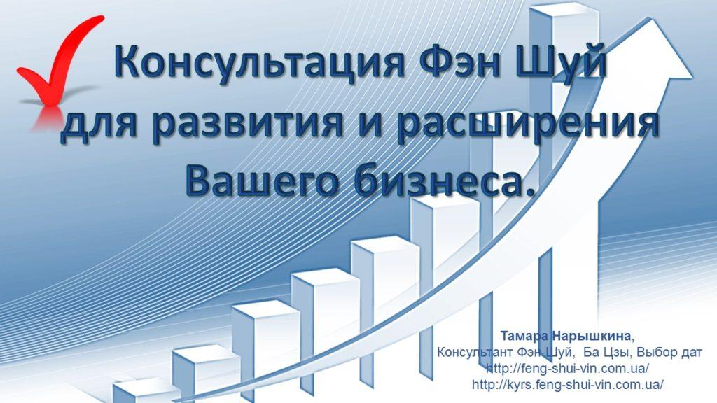 Консультация Фен Шуй для бизнеса Развитие и расширение Вашего бизнеса!