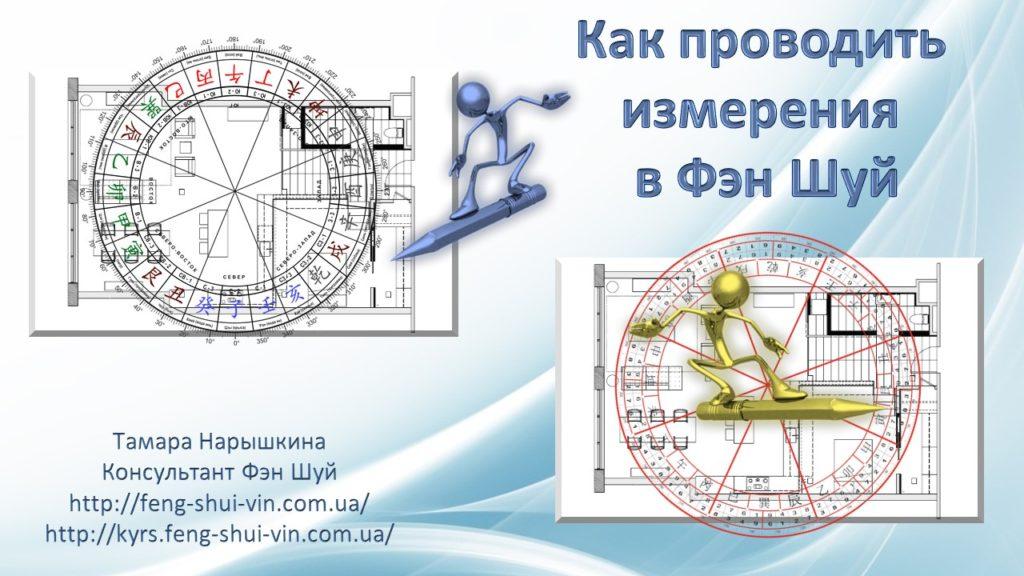 Как проводить измерения в Фэн Шуй