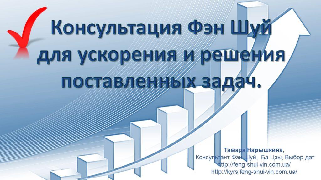 Консультация Фен Шуй для бизнеса, ускорения и решения поставленных задач