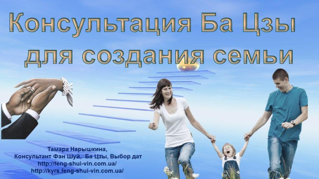 Консультация Ба Цзы для создания семьи