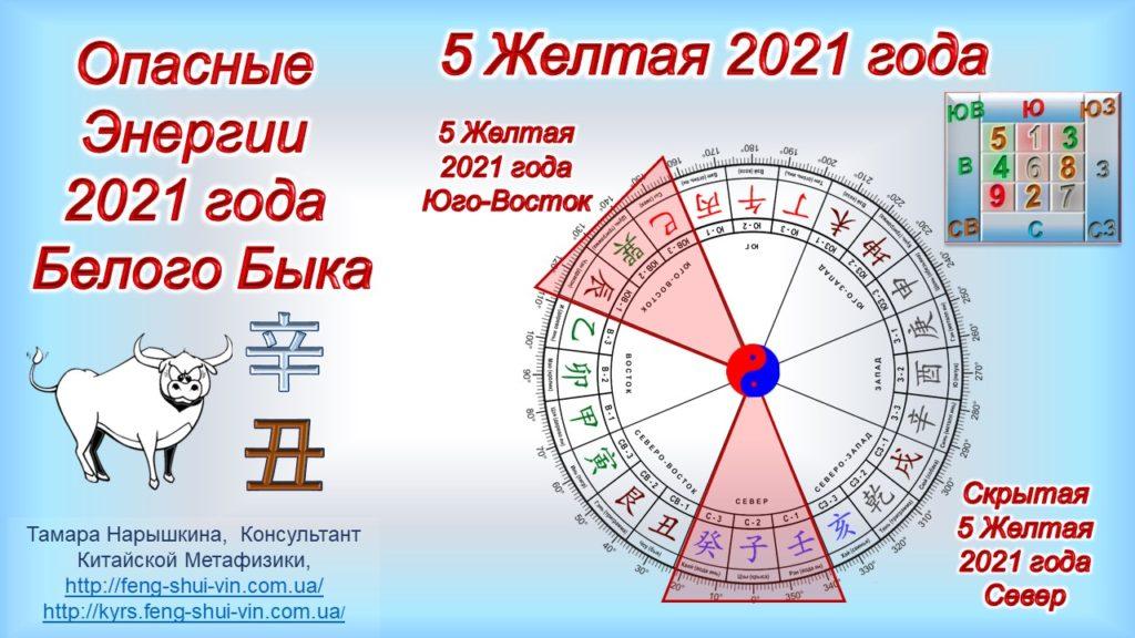 Скрытая 5 Желтая 2021 года