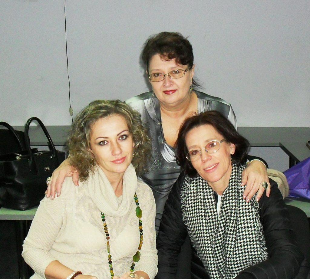 Тамара Нарышкина. Со своими учениками.