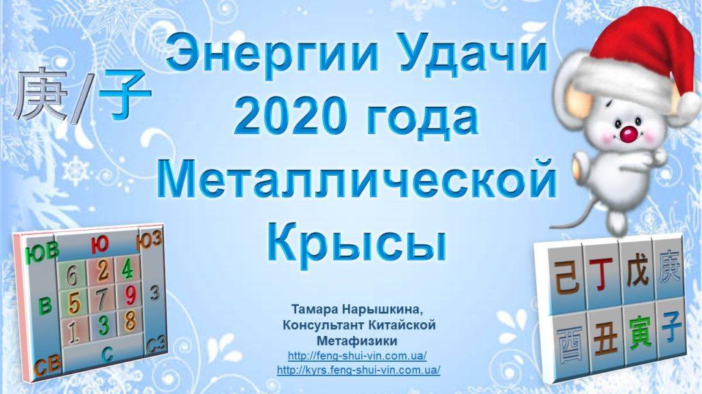 Удача 2020 года