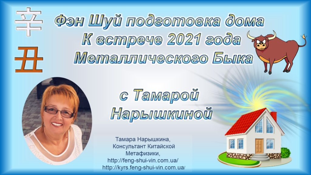 Фэн Шуй подготовка дома к новому 2021 году