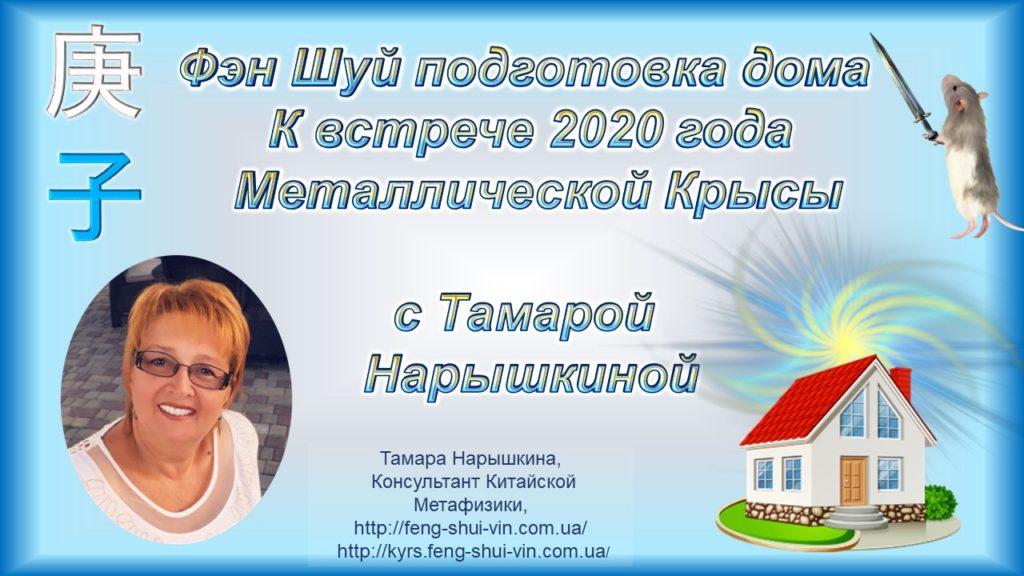 Фэн Шуй - подготовка дома к встрече Нового 2020 года Металлической Крысы!