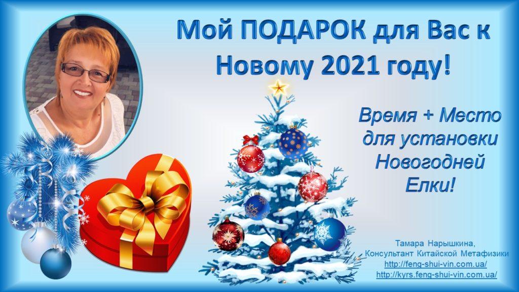 Фэн Шуй 2021 год Время и место для установки Новогодней Елки