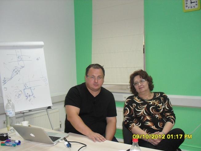 Владимир Захаров и Тамара Нарышкина