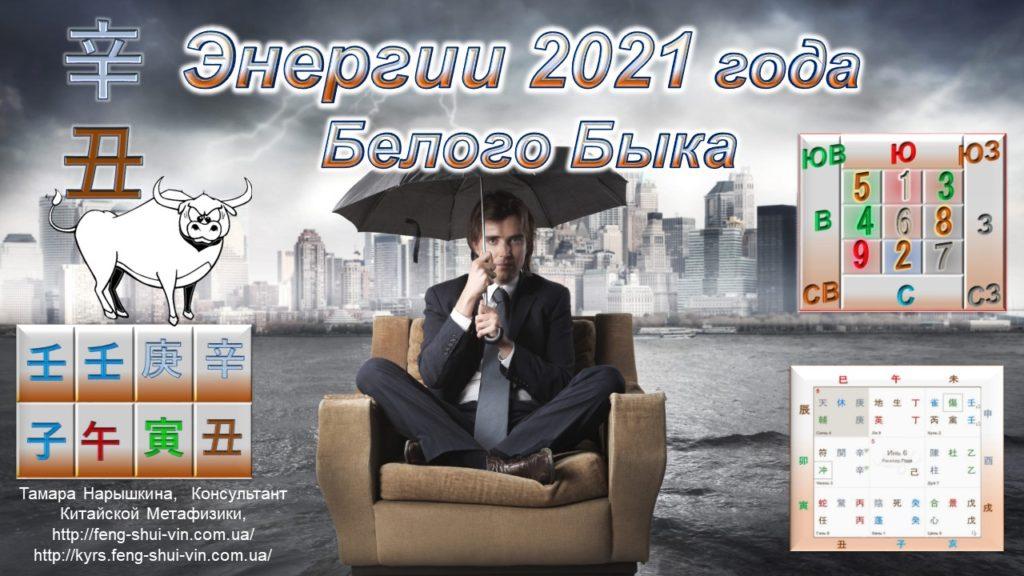 Фэн Шуй 2021 года Белого Быка