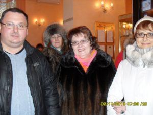 Владимир Захаров, Тамара Нарышкина, Оксана Сахранова