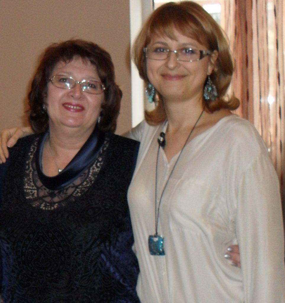Оксана Сахранова и Тамара Нарышкина